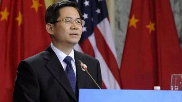 ჩინეთის საგარეო საქმეთა მინისტრის მოადგილე ჩჟენ ძეგუანი