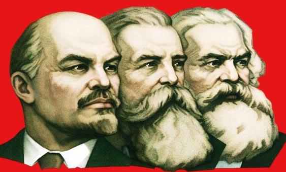 ლენინი, ენგელსი და მარქსი