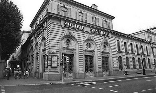 ბანკ Societe Generale-ს ძარცვა ნიცაში