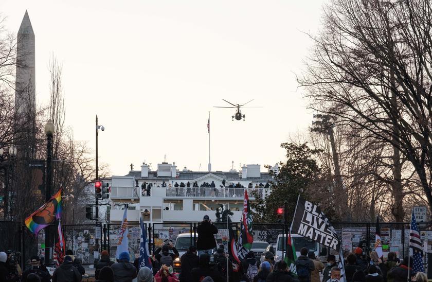 BLM-ის აქცია ვაშინგტონში 21 იანვარს