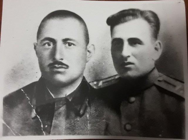 ვლადიმერ ხუნდაძე (მარცხნივ) და ირაკლი გიკაშვილი