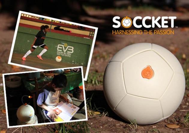 ფეხბურთის ბურთი Soccket-ი