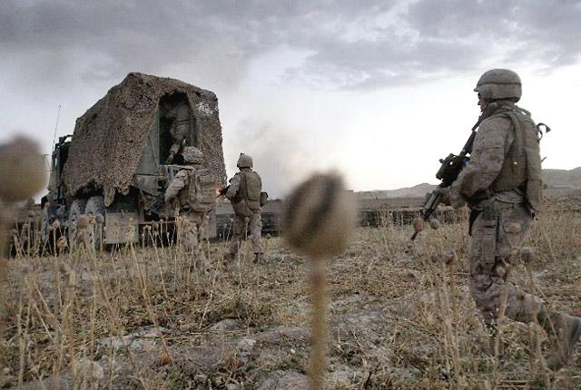 ამერიკელი სამხედროები ავღანეთში