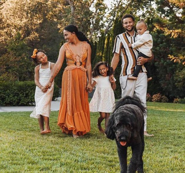 სტეფ კარის ოჯახი