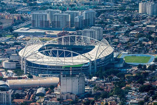 ნილტონ სანტოსის ოლიმპიური სტადიონი რიო-დე-ჟანეიროში