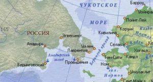 Россия собирается возвращать от США часть Берингова моря