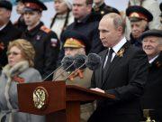 Владимир Путин поздравил ветеранов и народ Грузии с 75-летием Победы