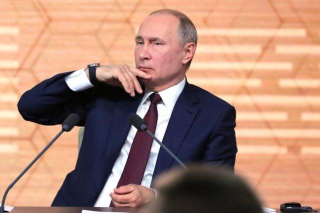 Путин заговорил об окончании своего срока президентства