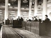 В президиуме Московского экономического совещания. 4 апреля 1952 года. Фото из открытого доступа